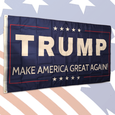 G.E.T. Make America Great Again - Flag