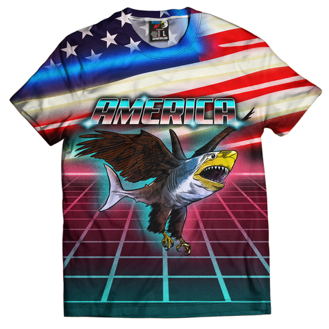 Retro Eagle Shark