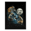 Three Tiger Moon - Poster