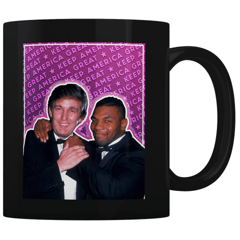 Trump Tyson Keep America Great - Coffee Mug