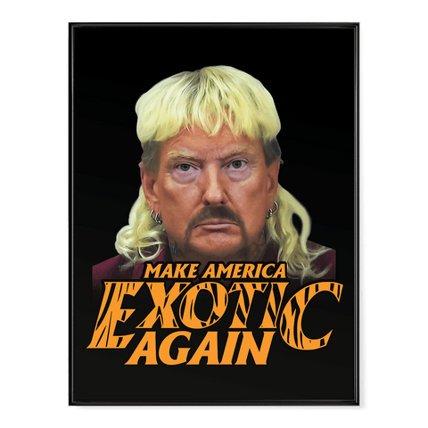 Trump Joe Exotic - Poster