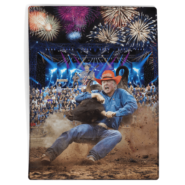 Trump Rodeo - Ted Nugent - Blanket