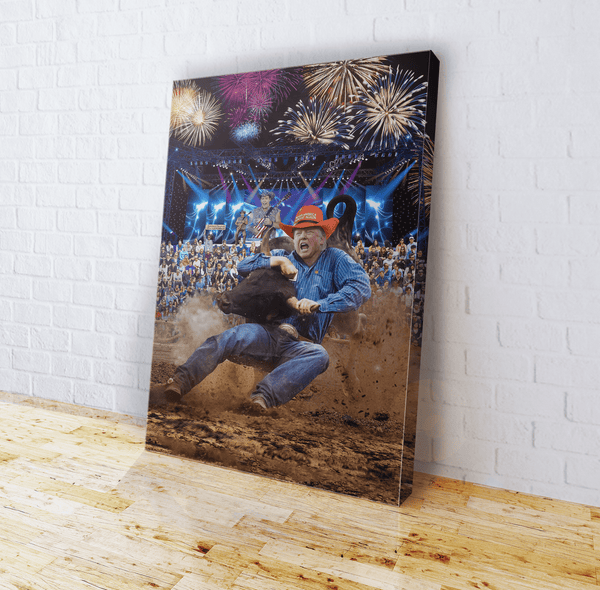 Trump Rodeo - Ted Nugent - Canvas