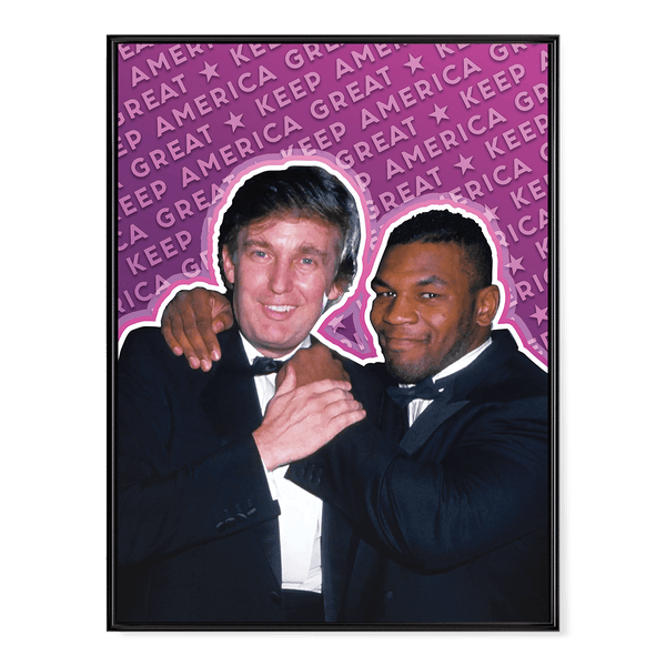 Trump Tyson Keep America Great - Poster