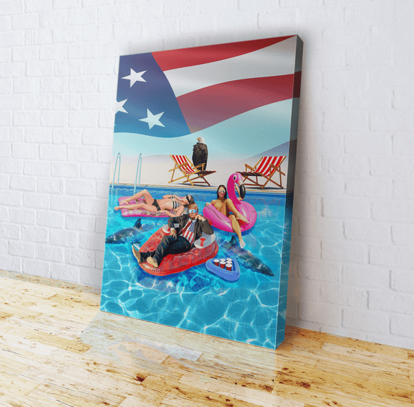 Trump Pool - Canvas