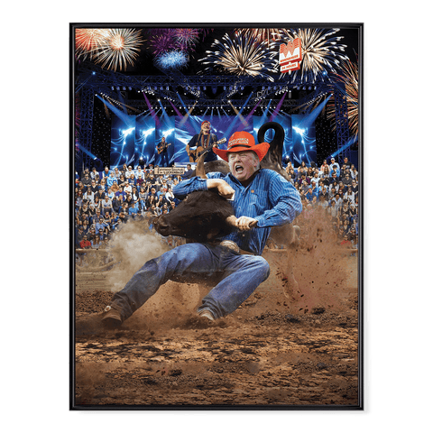 Trump Rodeo - Poster
