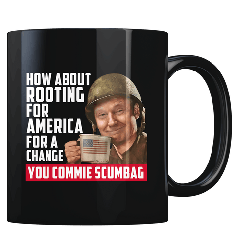 Trump Rooting for America V2 - Coffee Mug