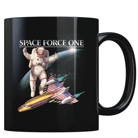 Trump Space Force One - Coffee Mug