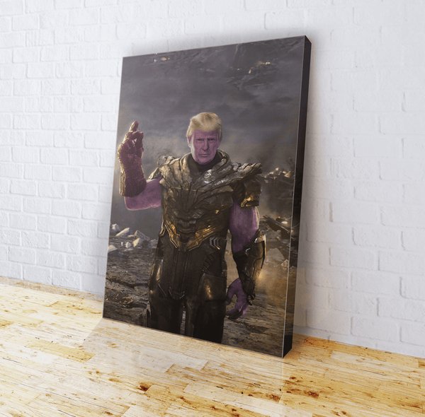 Trump Thanos (parody) - Canvas