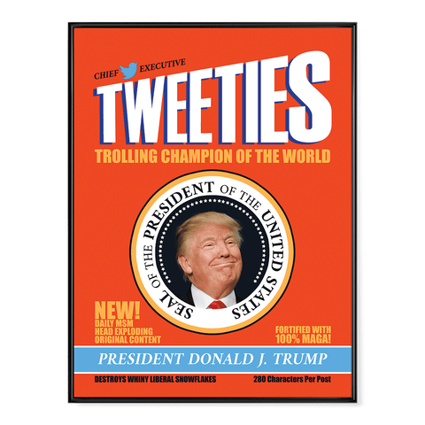 Trump Tweeties (parody) - Poster