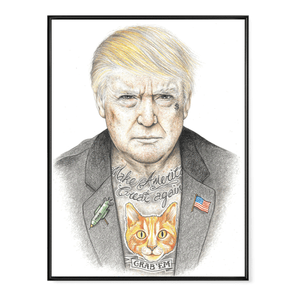 INKED Trump - Poster