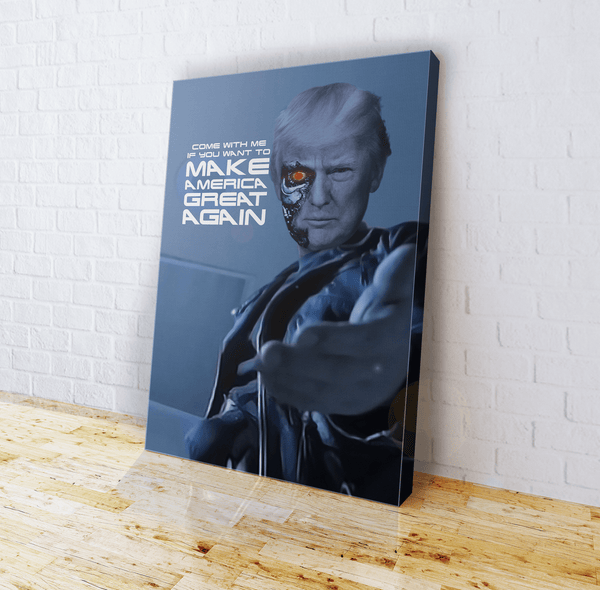 Want to MAGA - Canvas