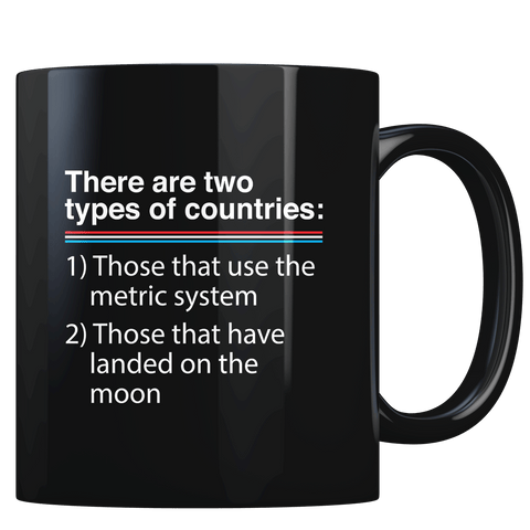 Two Types of Countries - Coffee Mug