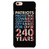 Patriots Protecting Cowards - Phone case