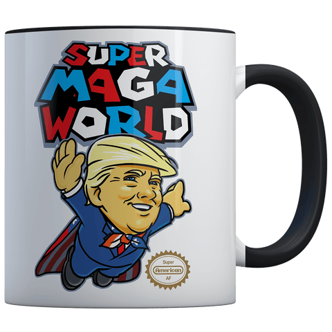 Super MAGA World (parody) - Coffee Mug
