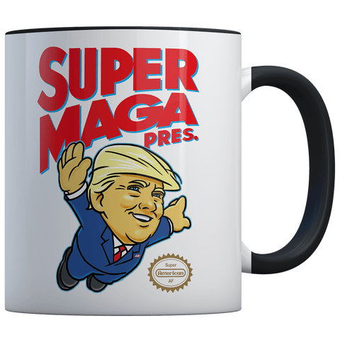 Super MAGA Pres (parody) - Coffee Mug