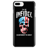 I'm the Infidel Allah warned you about - Phone Case