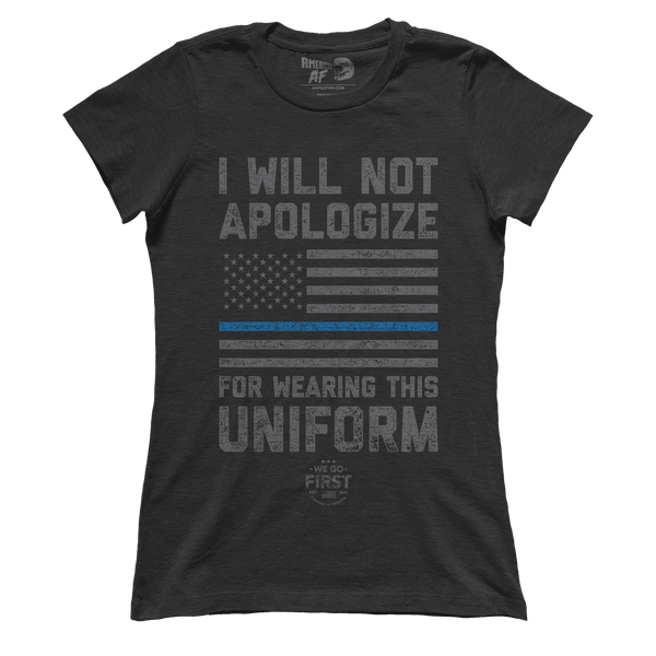 Will Not Apologize (Ladies)