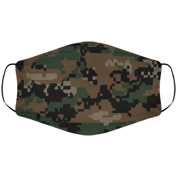 Woodland Marine Face Cover
