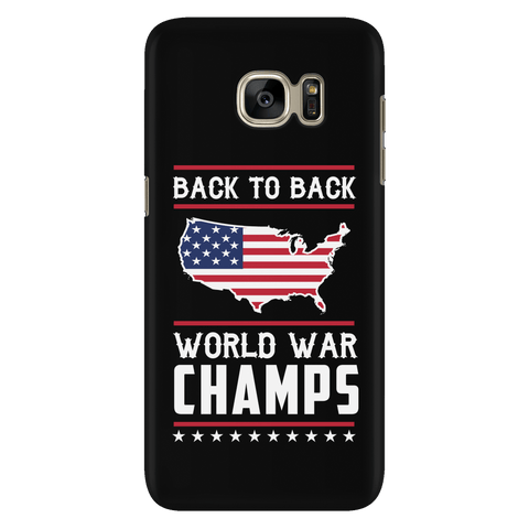 Back-To-Back World War Champs! - Phone Case