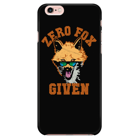 Zero Fox Given - Phone Case
