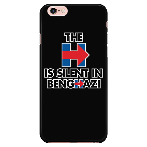 The H is silent in Benghazi - Phone Case