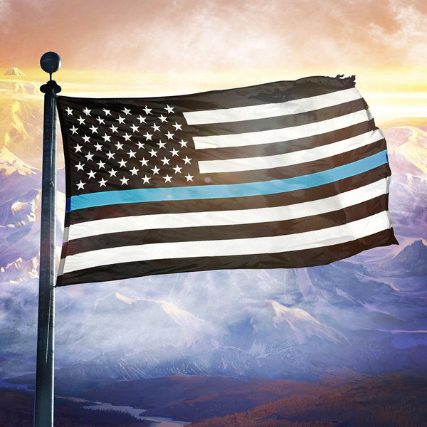AK: Thin Blue Line - Flag