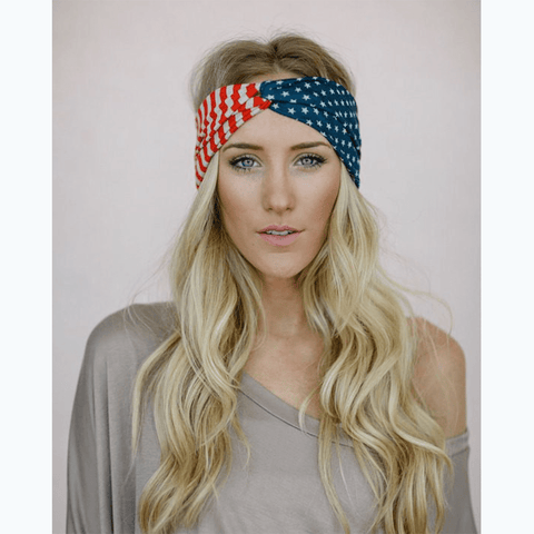 Stars and Stripes Twisted Headband