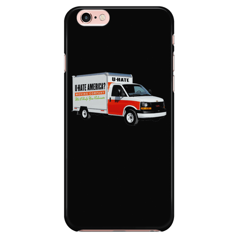 Hate America? Move - Phone case