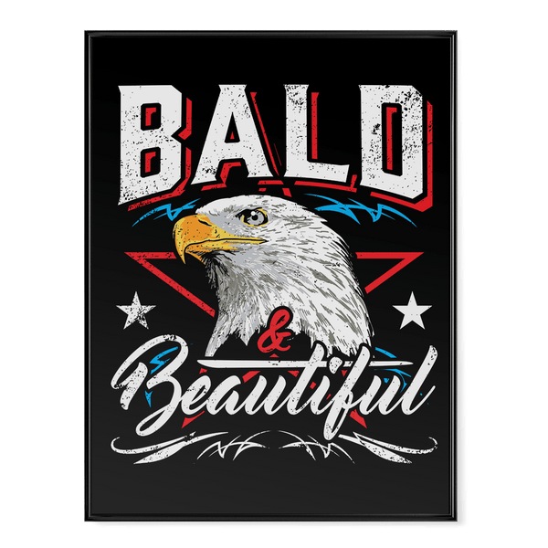 Bald and Beautiful - Poster