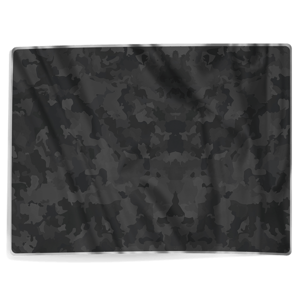 Black Camo Pattern - Blanket