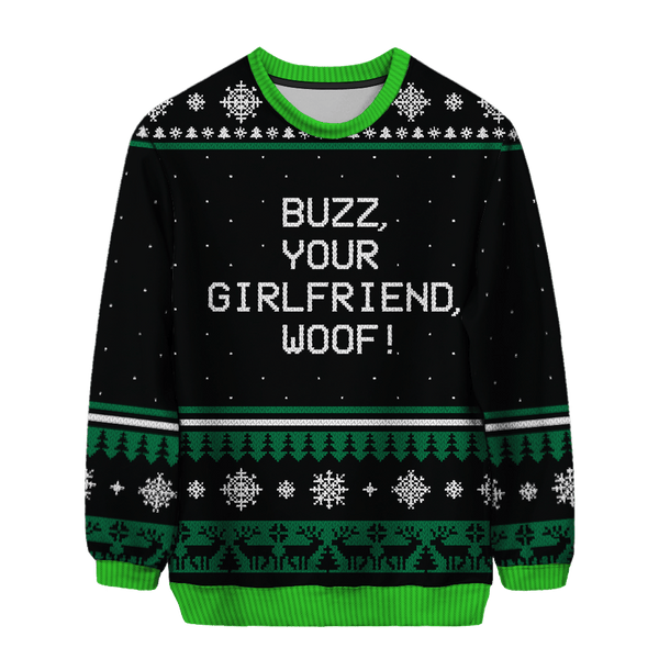 Buzz Woof Christmas Sweater