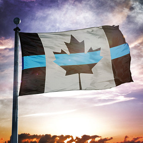 OD: Canadian Blue Line - Flag