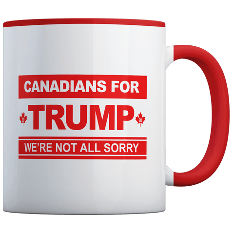 Canadians For Trump - Coffee Mug