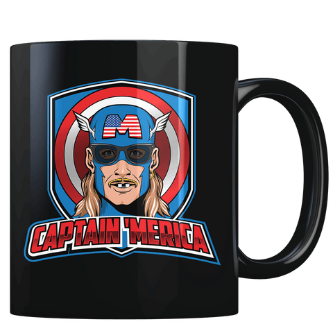 Captain 'Merica - Coffee Mug