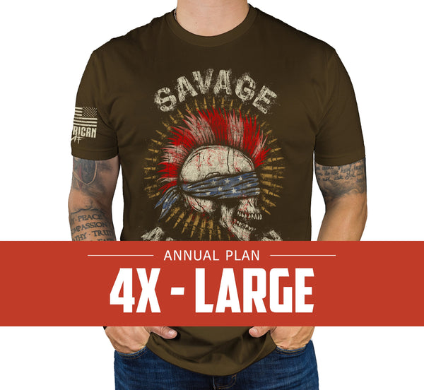 Mens 4XL - Annual