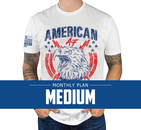 Mens Medium - Monthly