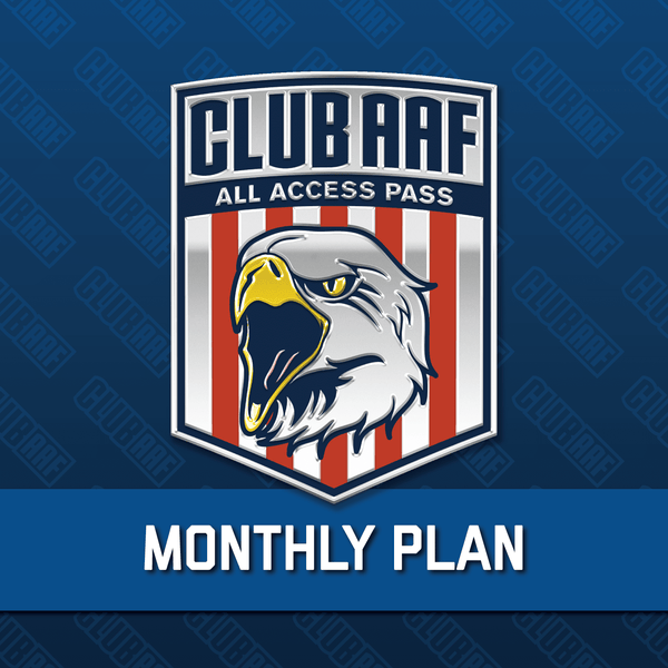Club AAF All Access Pass: Monthly Plan