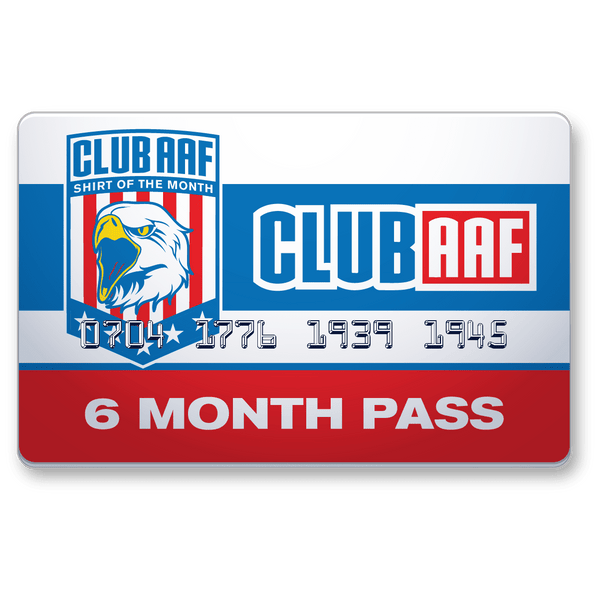 Club AAF Shirt of the Month: 6 Month Gift Pass | American AF - AAF Nation