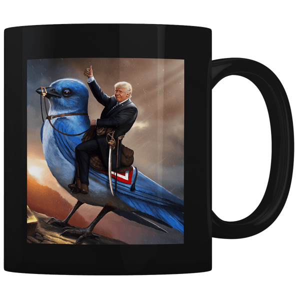 Commander and Tweets (Zoom) - Coffee Mug