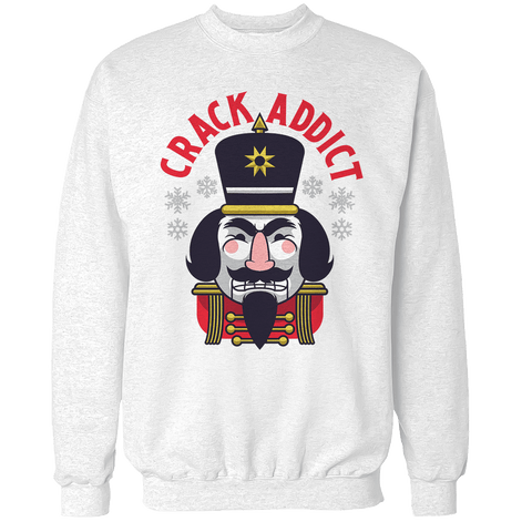 Crack Addict Unisex Sweatshirt