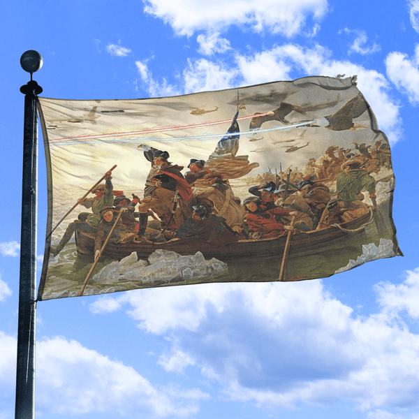 Crossing The Delaware - Flag