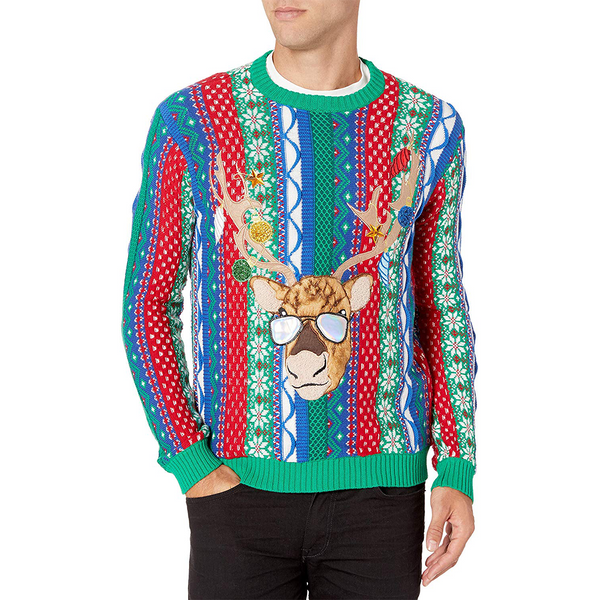 Holideer Party Ugly Christmas Sweater
