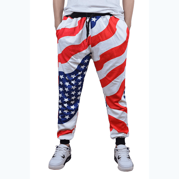 Patriotic Stars and Stripes Pants