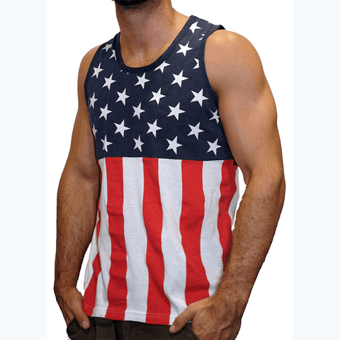 Stars and Stripes Men's Tank Top