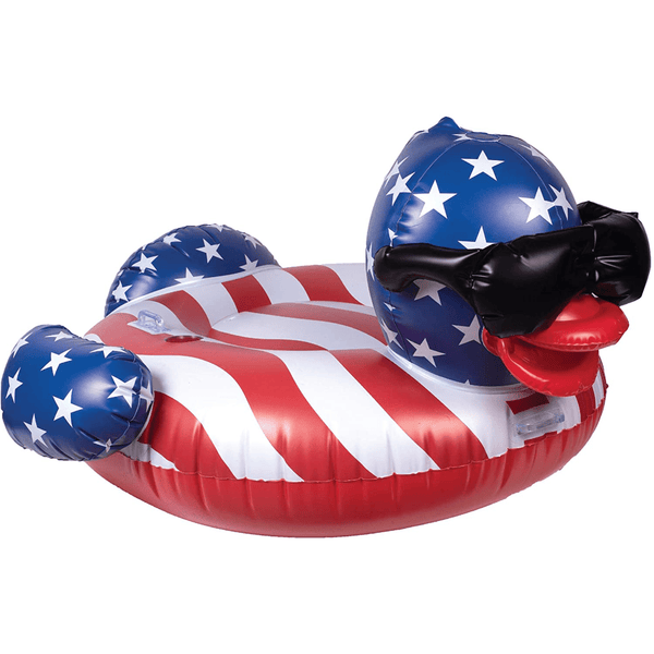 Stars and Stripes Duck Pool Float