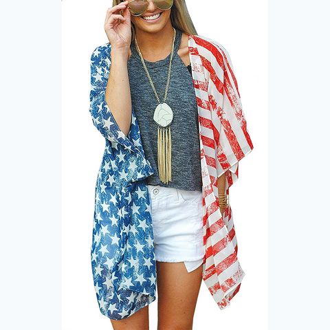 USA Flag Cardigan