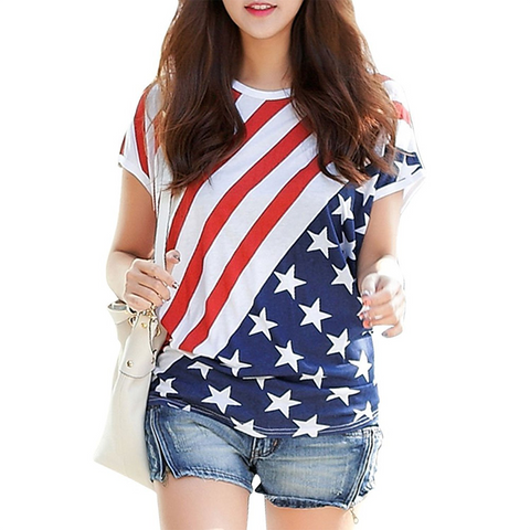 Casual Patriotic Tee