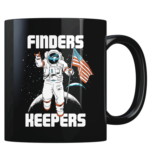Finder's Keepers - Moon Mission - Coffee Mug