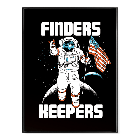 Finder's Keepers - Moon Mission - Poster
